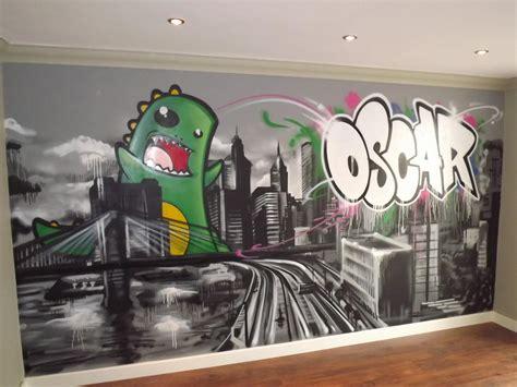 graffiti wallpaper bedroom children teen kids bedroom graffiti mural hand