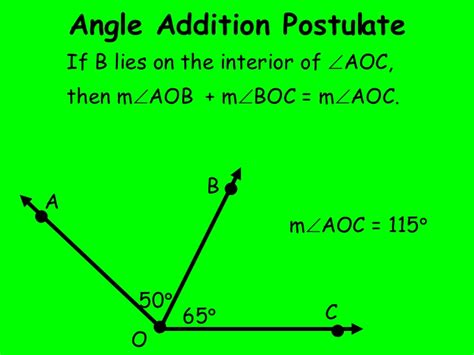 angle addition worksheet equation practice with angle geometry angle addition postulate worksheet answers