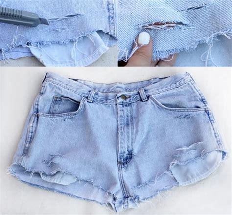 cortar pantalones diy cortar pantalones