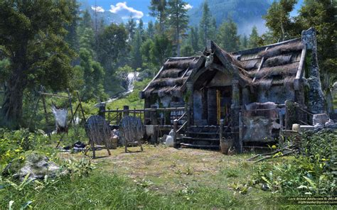 The Cabin In The by S Cabin In The Mountains By Neanderdigital On