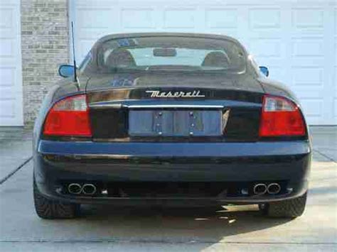 2003 maserati coupe gt purchase used 2003 maserati coupe gt manual 6 speed