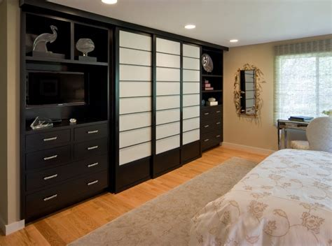 Built In Closets For Master Bedroom Master Bedroom With Built In Closet Traditional Bedroom San Francisco By Tamera Embree