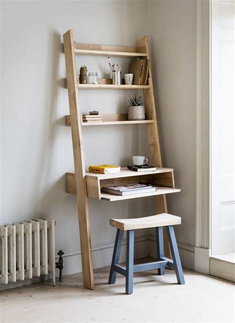Narrow Oak Bookcase Best 25 Ladder Desk Ideas On Pinterest Design Desk