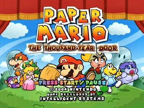 Paper Mario And The Thousand Year Door by Opiniones De Paper Mario The Thousand Year Door
