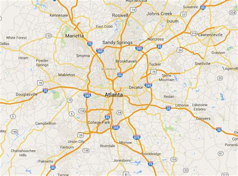 atlanta area map out fact experience you earlier other place