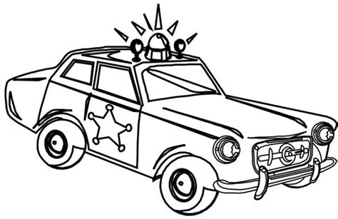 sheriff cars coloring pages sheriff police car coloring page coloring page