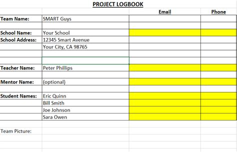 Project Log Template 6 project log templates excel pdf formats
