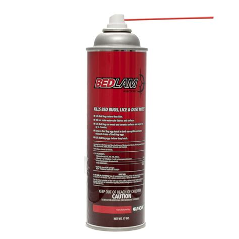 bedlam aerosol insecticide kills bed bugs lice   shipping