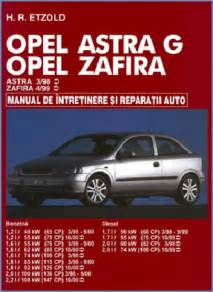 Opel Manual Manual Auto Opel Astra G Zafira