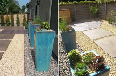 Yard Planters by Three Vibrant Color Schemes For Outdoor Spaces