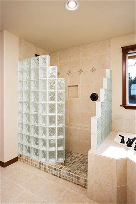How Much Is A Walk In Shower Glass Block Tub Replacement Shower In St Louis