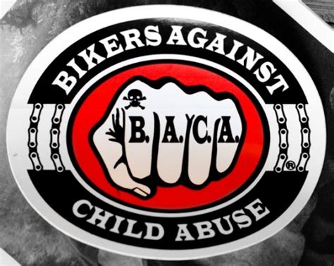 baca one bikers against child abuse providing protection not in