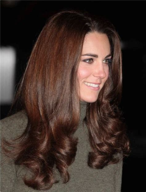 is kate middletons hair mahogany 25 best ideas about chestnut brown hair on pinterest