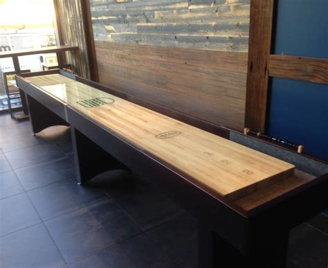 Bar Shuffleboard Table Bar Shuffleboard Table