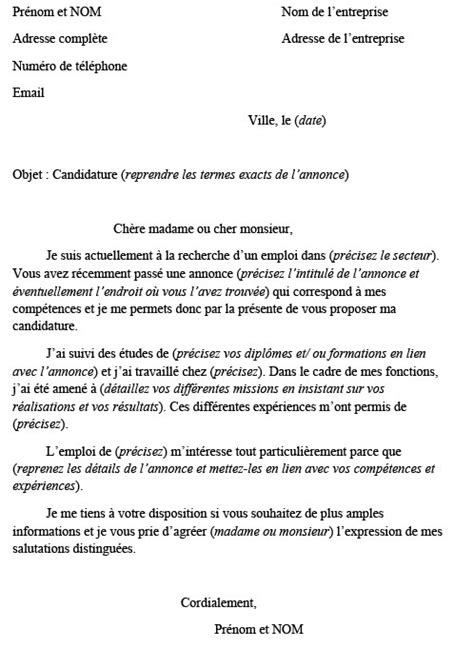 Lettre De Motivation Vendeuse Barman Application Letter Sle Mod 232 Le De Lettre De Motivation