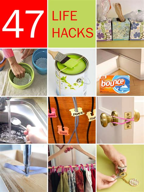 household hacks 47 amazing life hacks using only common household items