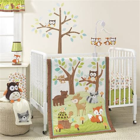 forest animal crib bedding 41 best images about woodland forest baby room on