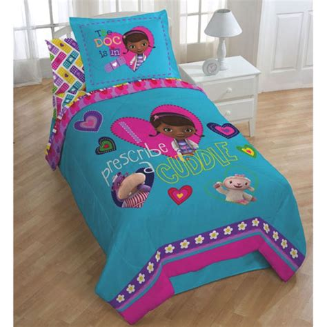 doc mcstuffins bedding set size disney doc mcstuffins single size comforter sham set