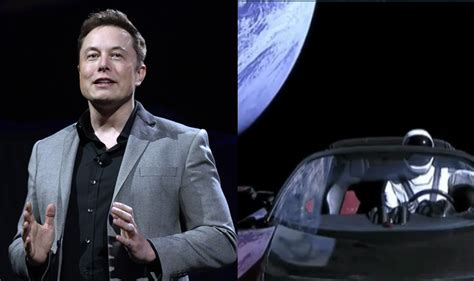 elon musk website elon musk s tesla roadster can be traced in space with
