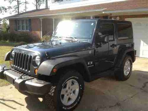 2008 Jeep Wrangler 2 Door Sell Used 2008 Jeep Wrangler X Sport Utility 2 Door 3 8l