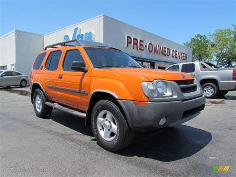 2003 atomic orange nissan xterra xe v6 4x4 48866942 gtcarlot car color galleries