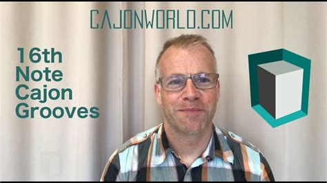 cajon grooves 16th note cajon grooves youtube