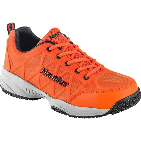 slip resistant athletic shoes safety toe hi vis slip resistant athletic shoe nautilus
