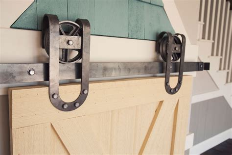 Vintage Sliding Barn Door Hardware Horseshoe Vintage Sliding Barn Door Hardware
