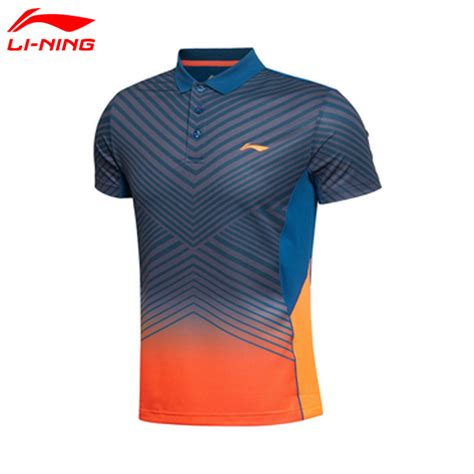 T Shirt Liner 3 Colour Li Ning Mens Badminton T Shirts Lining