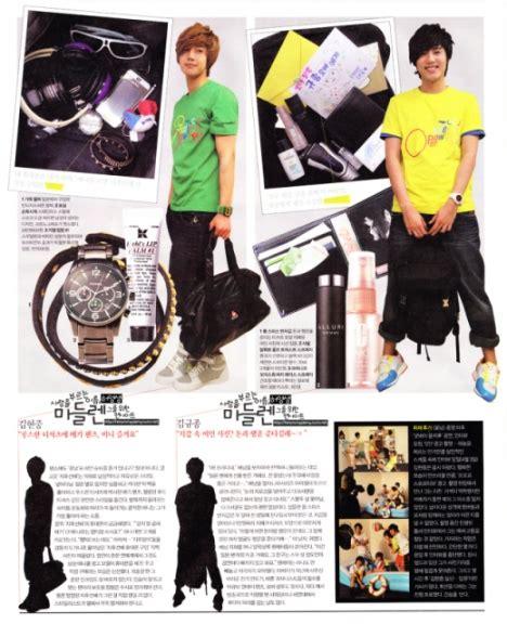 Digital 501 Tas Selempang Kamera all about korean isi tas member ss501 dan shinee