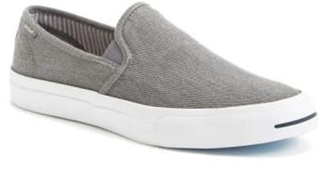 Jual Converse Purcell Slip On lyst converse purcell purcell ii slip on in gray for