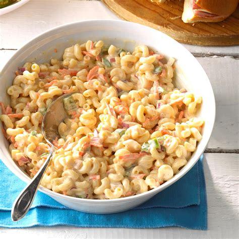 macaroni salad recipes sweet macaroni salad recipe taste of home