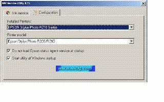 cara reset epson r230 ssc service utility reseter epson r230 t11 aneka apa aja gudangnya software