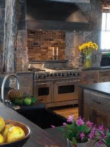 Oven Backsplash Gourmet Viking Oven With Brick Backsplash And Surround Designers Portfolio Hgtv