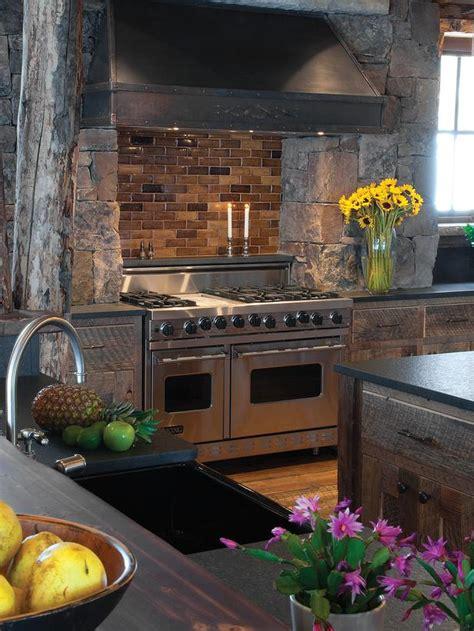 Oven Backsplash Gourmet Viking Oven With Brick Backsplash And Surround Designers Portfolio Hgtv