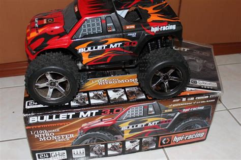 Topi Baseball Hpi Racing bullet st 3 0 rtr 2 4ghz nearly new for rc sales