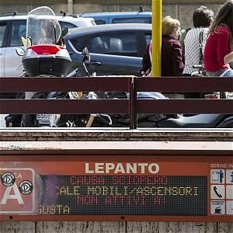 metropolitana da marted 236 la chiusura anticipata della a