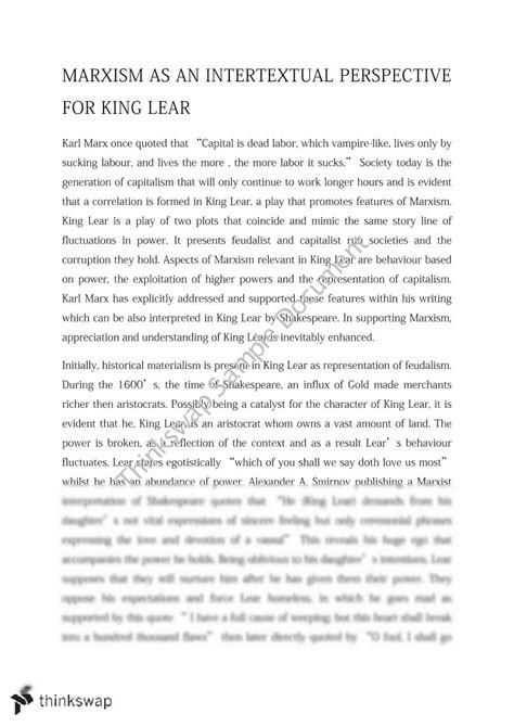 King Lear Essay Topics by King Lear Essay Questions Leaving Certificate King Lear Studyclix College Essay Topics