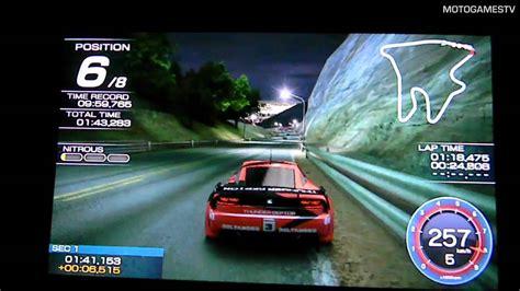Kaset Ps Vita Ridge Racer ridge racer ps vita sunset heights track gameplay