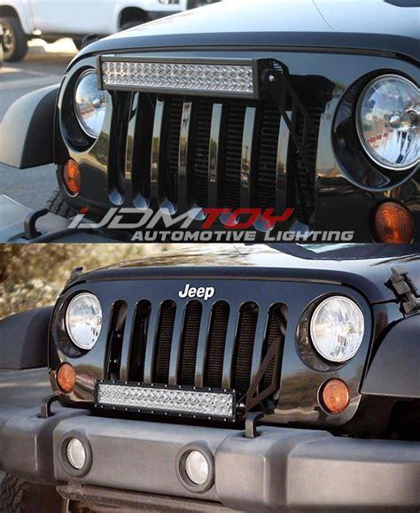 jeep light bar grill best 25 jeep wrangler light bar ideas on jeep