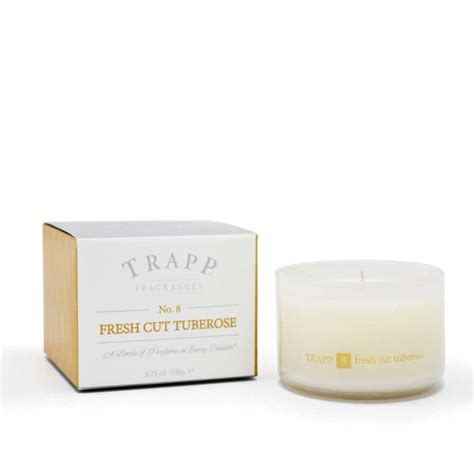Trapp Candles Trapp Candles No 8 Fresh Cut Tuberose 3 75 Oz Poured Candle