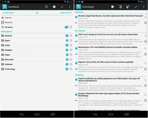 best rss reader android best reader app for android