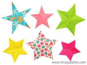 folding paper stars craft kids crafts firstpalette com