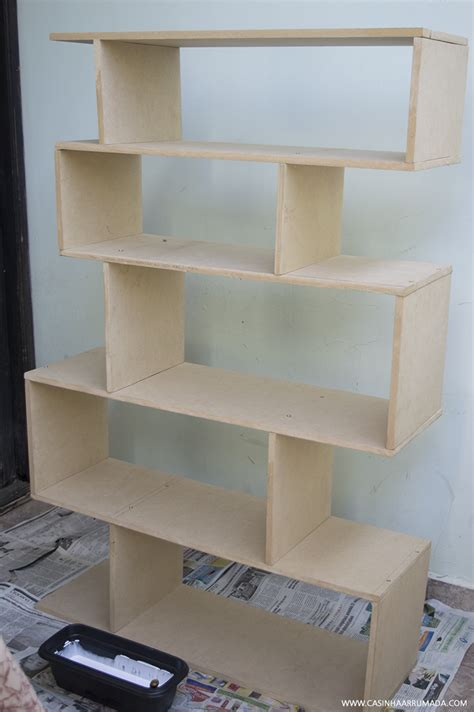 estante usada livros diy como fazer estante de livros gastando pouco
