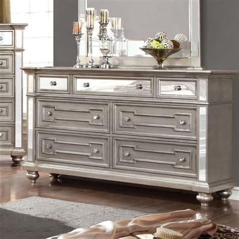 Mirror Dresser Drawers by Silver Mirrored Dresser Bestdressers 2017