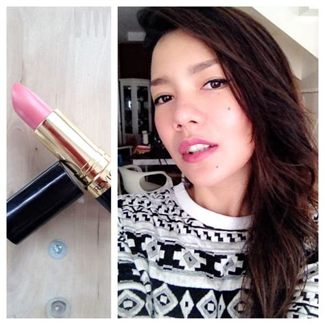 Lipstik Revlon Pink In The Afternoon lipstick p review revlon lustrous lipstick in pink
