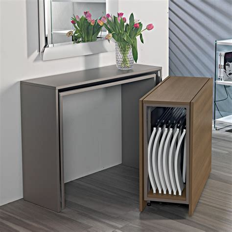 console tavolo archimede c consolle con tavolo pieghevole 170 x 90 cm