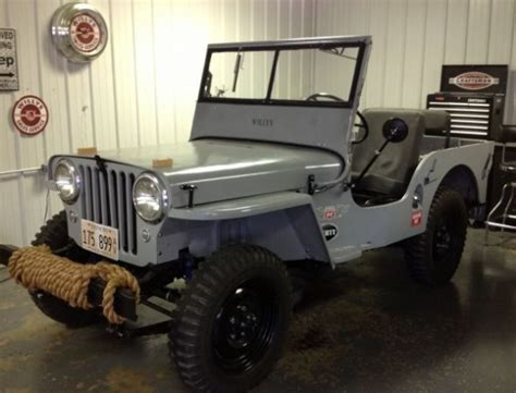 Willys Jeep For Sale 1947 Cj2a Willys Jeep Bring A Trailer