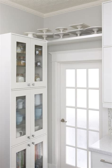 Glass Front Cupboard - glass front kitchen cabinets design ideas