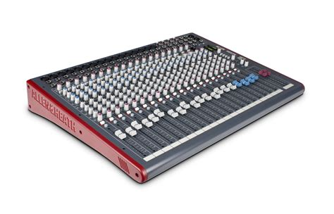 Mixer Allen Heath Zed 16 mixer consola allen heath zed 24 16 8 fact a y b